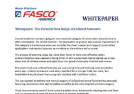 Whitepaper: The Versatile New Range of Collated Fasteners