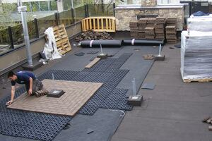 Pavers for Rooftop Decks