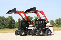 TS80 skidsteers from Takeuchi