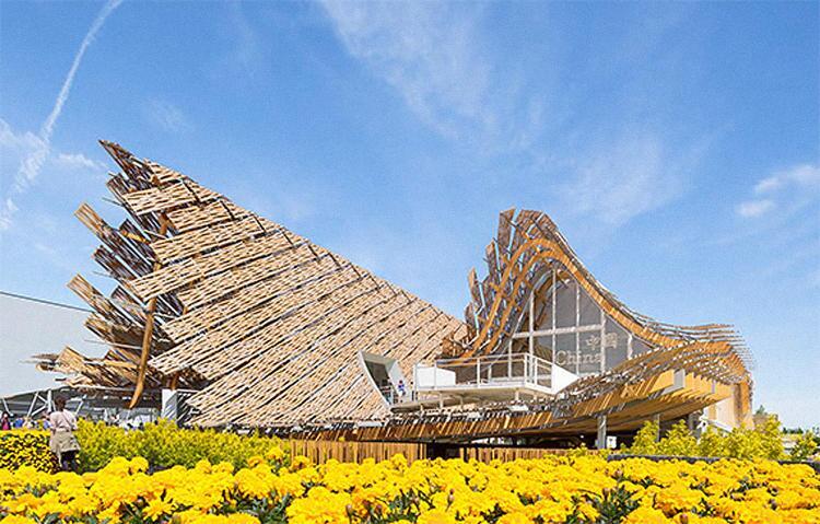 China Pavilion Maln Expo 2015, by Studio Link-Arc, LLC