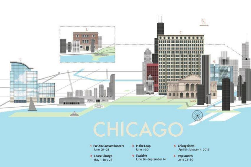 Across Chicago