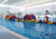 Aqua Run Challenge - Modular Inflatable Obstacle Course