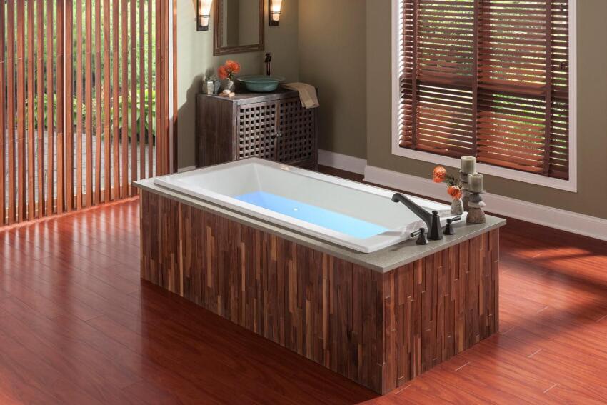 Soak it Up in a Luxury Bathtub
