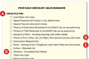 Sales Manager Project File Review