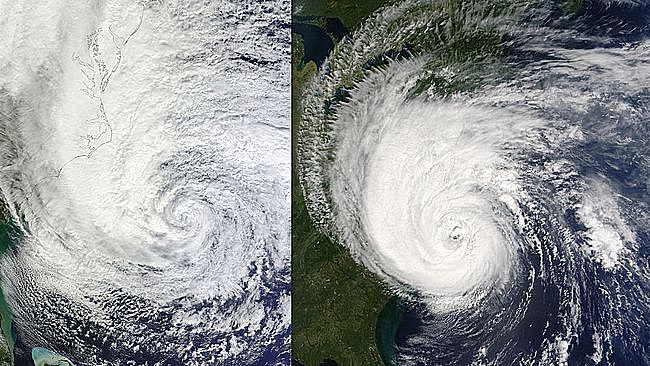 How Will Joaquin Compare to Superstorm Sandy or Hurricane Isabel?
