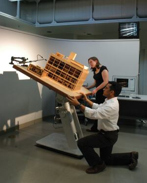 Physical modeling tools, such as a heliodon--a tilt-table where a model is placed and a light source applied--enable designers to see how light moves through a space.