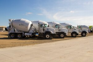 McNeilus supports the NRMCA's National Mixer Driver Championship with four McNeilus Standard Mixers and one Oshkosh Front Discharge mixer.