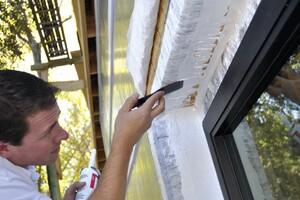 Fluid-Applied Window Flashing