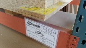 Franklin Building Supply relies on kanban cards to help manage its inventory efficiently.