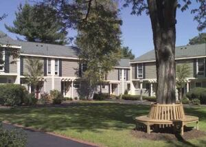 Boston Residential Group spent $4.4 million updating Linden Square Townhomes, a rental complex in Wellesley, Mass.