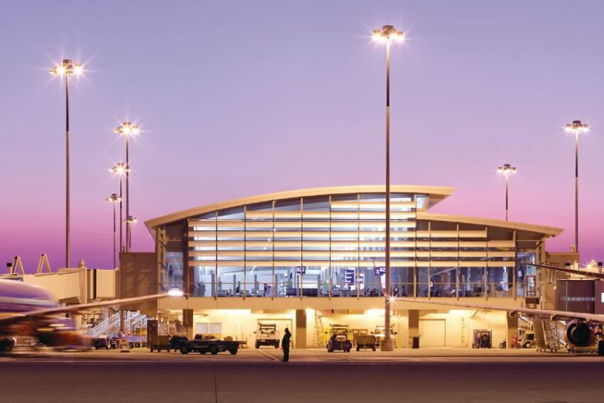 Daylighting, Electric Lighting Design for Sacramento International Airport Terminal B and Concourse Buildings