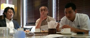 Panelists at a Japanese roundtable contemplate their wives' role in driving demand--or lack thereof--for remodeling.