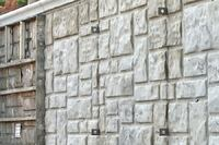 Wall-Ties & Forms Ashlar Stone Concrete Form