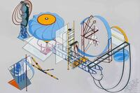"""Alice Aycock Exhibits """"Nonfunctional Architecture"""""""
