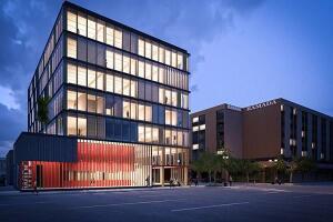 Construction begins on the Wood Innovation Design Center.
