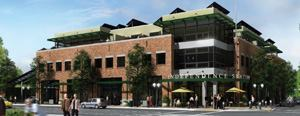 Independence Station, a mixed-use development in Oregon, may attain 64 LEED points.