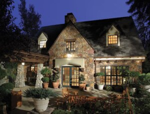This vintage Tudor manor, owned by David Kipp, underwent two major remodels by HartmanBaldwin.
