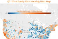 Equity Rich Housing Heat Map Q2 2016