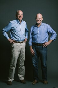 Architects David Lake (left) and Ted Flato