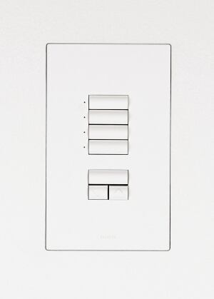 TRUFIG represents a new way to install wall switches, outlets, and audio/video wall plates. The custom installation kits allow designers to flush-mount the panels and keypads controlling a variety of devices, for a cleaner, more integrated look. Ideal for new-construction or remodeling projects, the kits come with white, brown, and almond face covers that may be custom-painted. Dana Innovations, 949.366.8782; www.trufig.com