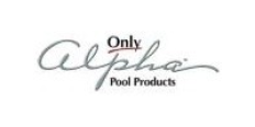 Only Alpha Pool Products Logo