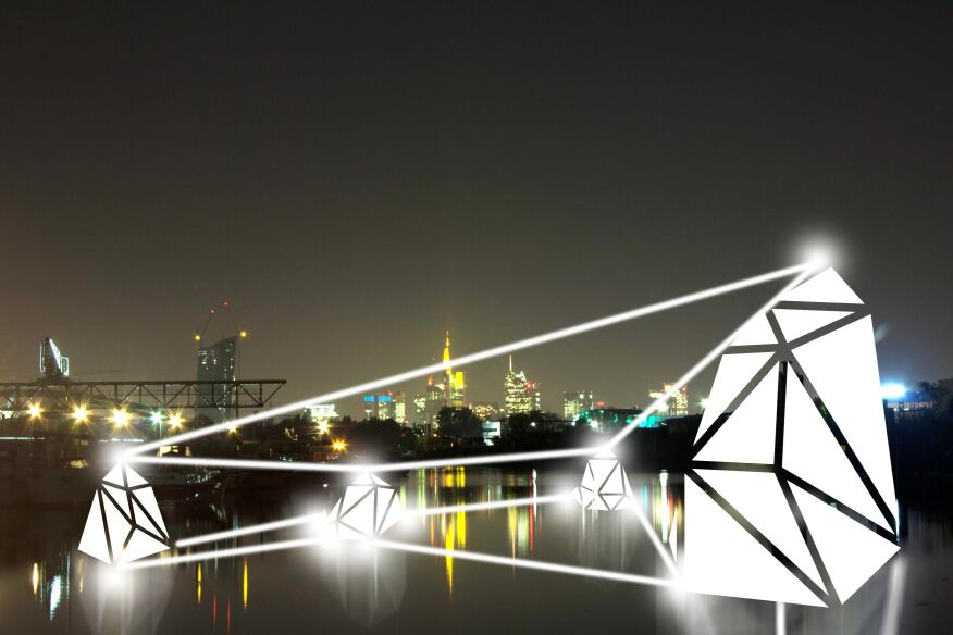 Installation in the public part of Offenbach Port by werkbund.jung