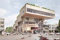 Four Proposals for Arnhem, Netherlands Arts Project