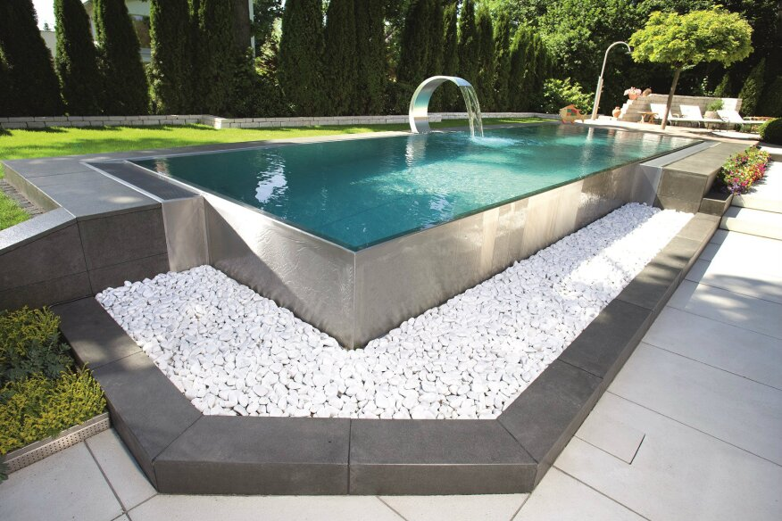 European stainless steel pool manufacturer berndorf enters - Best above ground swimming pool brands ...