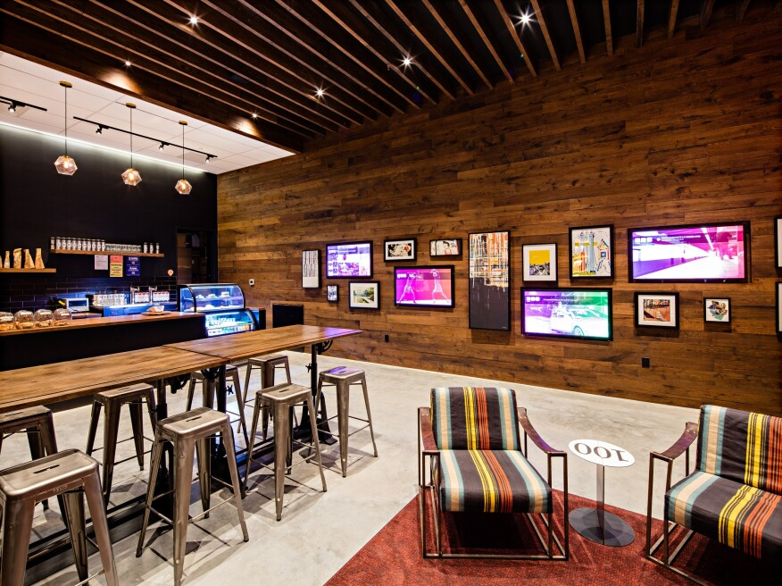 AvalonBay Communities developed AVA Brew, a coffee shop next to the firm's recently opened AVA DoBro project in Brooklyn, N.Y., in response to resident feedback and regional tastes.