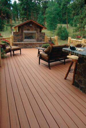 "Advanced Environmental Recycling Technologies has introduced MoistureShield Vantage Collection, wood-plastic composite decking line that contains a minimum of 30% post-consumer and 60% pre-consumer recycled content. Measuring 1"" by 6"", the collection is embossed with a wood-grain finish on both sides, making each piece reversible. Available colors include seasoned mahogany, rustic cedar, Cape Cod gray, earthtone, terracotta, desert sand, walnut, and tigerwood. The boards come with or without grooves to accommodate hidden fastening systems. They are resistant to rot, decay, moisture, and insects, and come with a limited lifetime warranty. moistureshield.com"