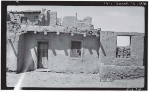 An early HABS employee, M. James Slack, documented Acoma Pueblo in New Mexico—the oldest continuously inhabited community in North America—in 1934.