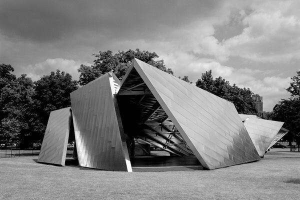 "Serpentine Gallery Pavilion 2001 - ""Eighteen Turns"" - Designed by Daniel Libeskind with Arup"