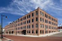 Historic Furniture Factory Transformed into Affordable Housing