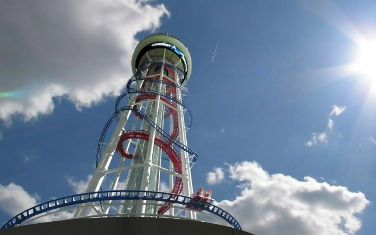 From the Orlando Sentinel: Skyscraper Roller Coaster Design Unveiled