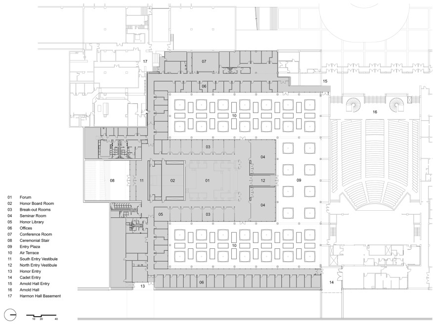 Polaris Hall plan