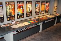 Ozinga Design Center Polished Concrete Table and Display