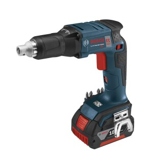 This is the official photo of the SG182 Drywall Screwdriver—which is scheduled to be released in the U.S. in September 2014. It's shown here with a 4.0 Ah FatPack battery.