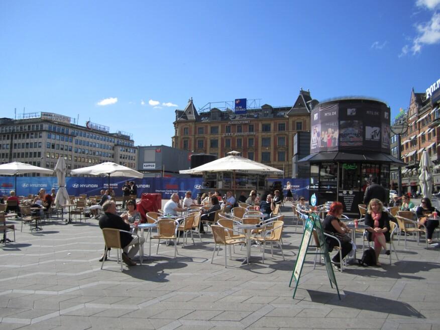 Public space, Copenhagen.