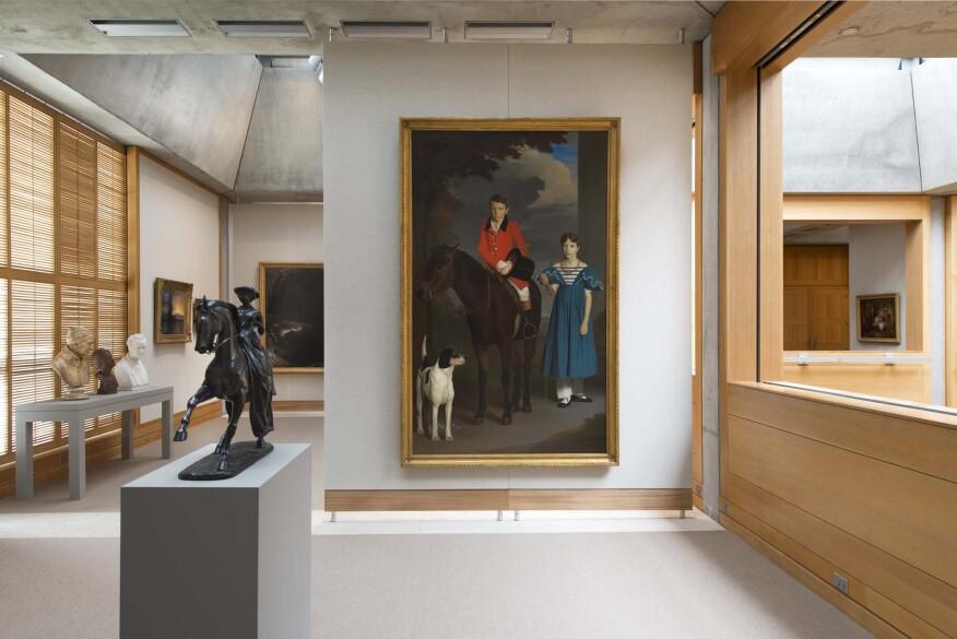 Fourth floor gallery