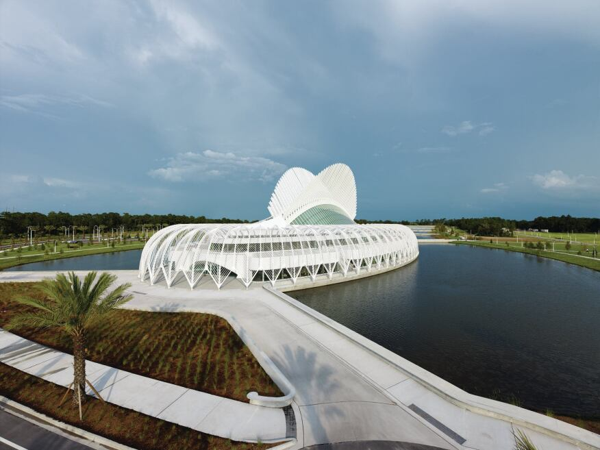 Architecture Design University florida polytechnic university, designedsantiago calatrava