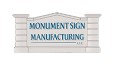 Monument Sign Mfg. Logo