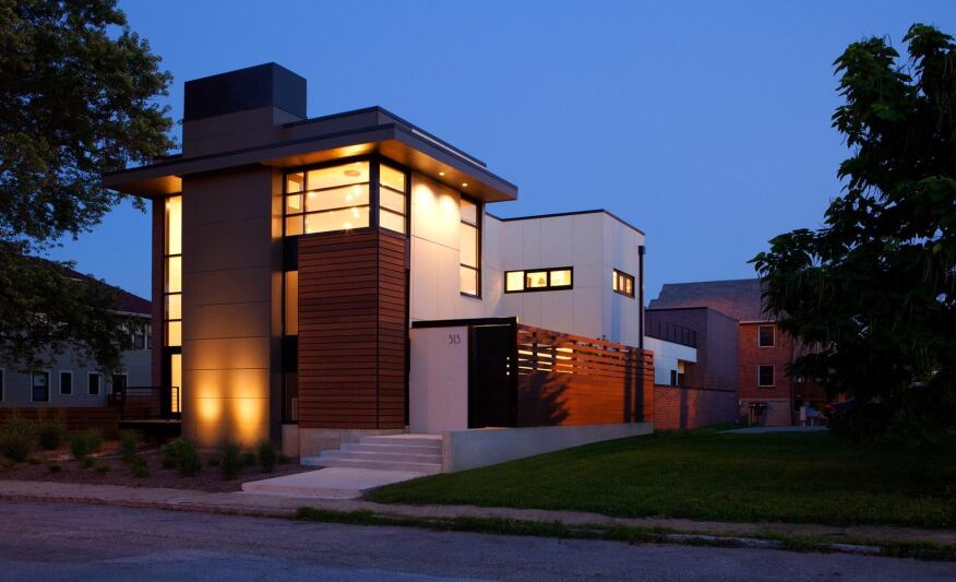 City Cottage, Indianapolis, Ind. by ONE 10 STUDIO Architects