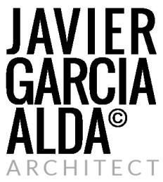 JAVIER GARCIA ALDA architect Logo