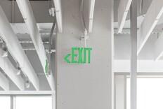 Award: LELU Exit Sign