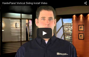 HardiePanel® Vertical Siding Introductory Installation Video