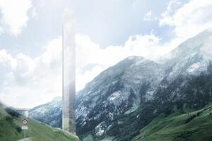 Morphosis Unveils 7132 Tower in Switzerland
