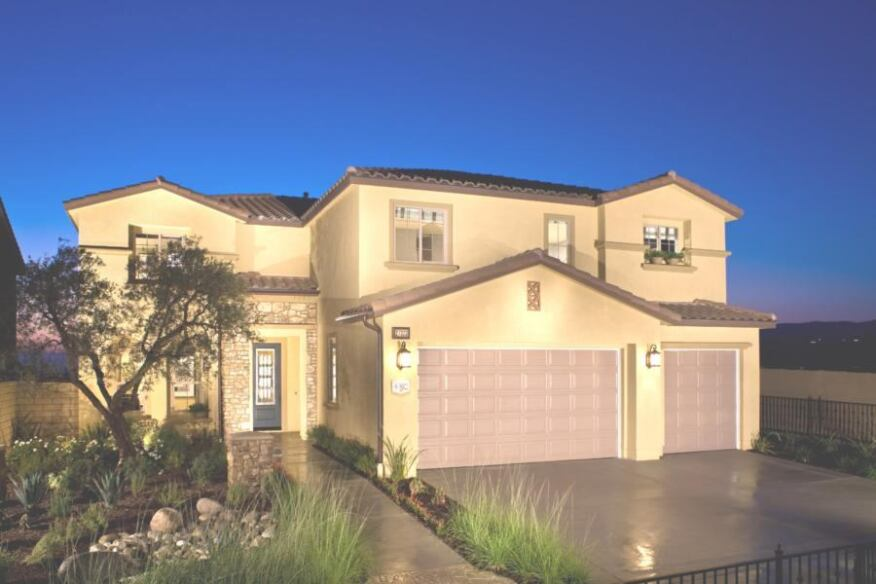 Part of Oak Crest in the community of Fair Oaks Ranch, this 3,960-square-foot Pardee home meets the criteria of the California Green Builder program.