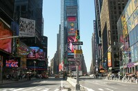 Times Square Reconstruction Complete