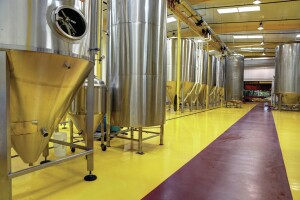 Brewery owners are demanding customers. In addition to providing an antimicrobial surface, floor coatings and sealants must withstand frequent cleaning with corrosive chemicals and thermal shock.