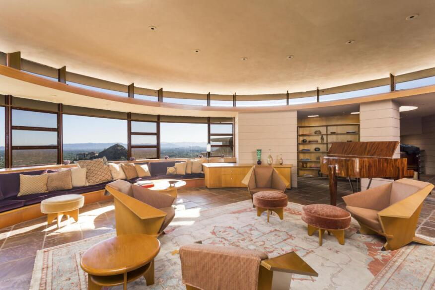 The last home designed by frank lloyd wright is for sale for Home design 85032